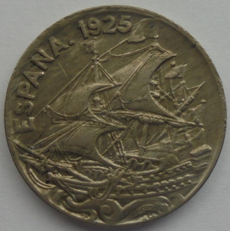 1925 - 25 Centimos 1925 Alfonso XIII OPINION/AYUDA Dsc09418