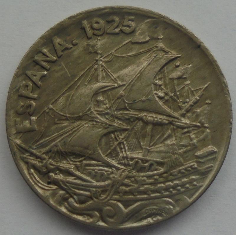 1925 - 25 Centimos 1925 Alfonso XIII OPINION/AYUDA Dsc09419