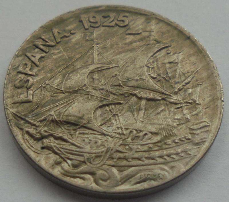1925 - 25 Centimos 1925 Alfonso XIII OPINION/AYUDA Dsc09421