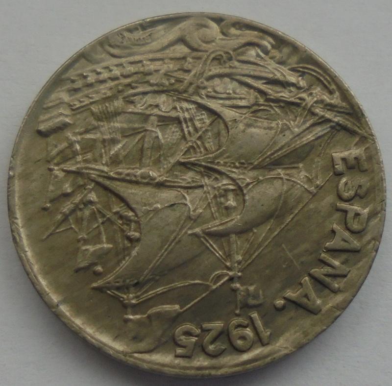 1925 - 25 Centimos 1925 Alfonso XIII OPINION/AYUDA Dsc09424