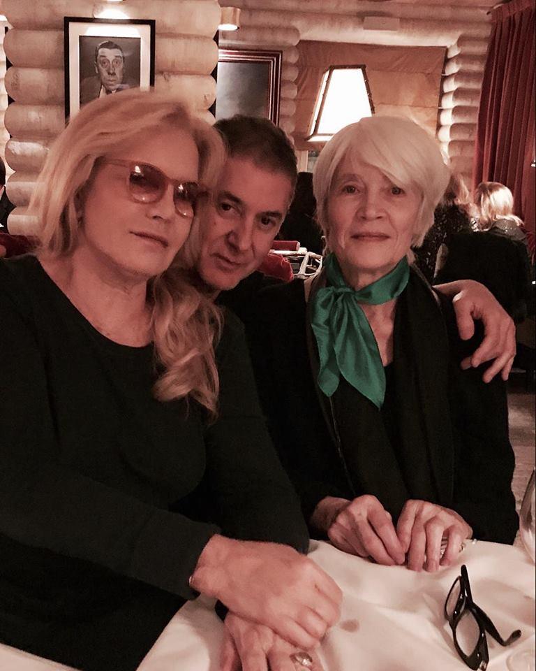 Photo avec Etienne Daho et Françoise Hardy 22853410