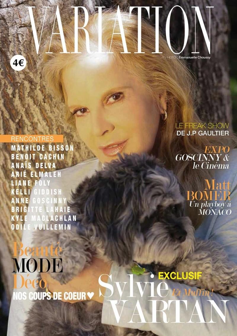 PRESSE - Sylvie en couverture de Variations Thumbn10