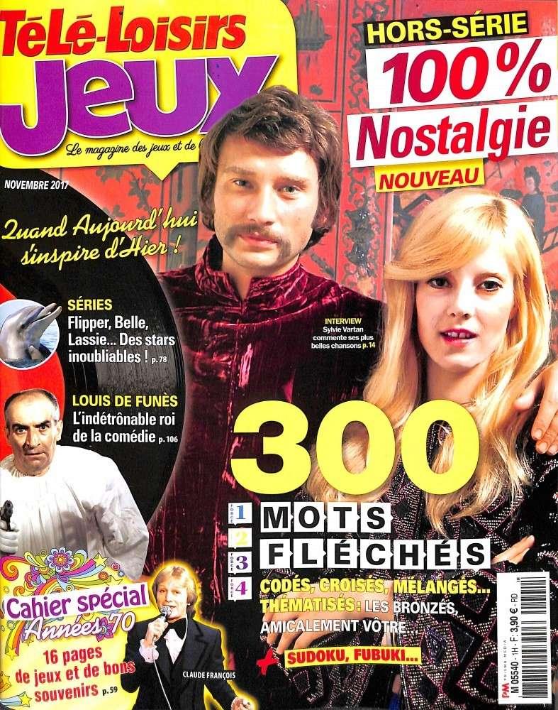 PRESSE - Sylvie en couverture de Télé Loisirs Jeux  Zytyly10