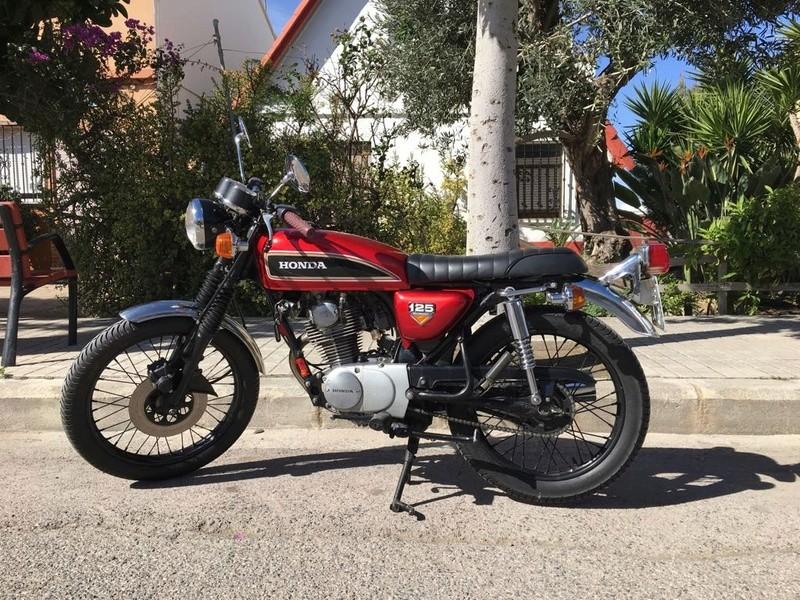 Se vende Honda CB 125 31a1d910