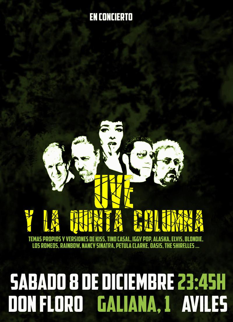 Uve y la Quinta Columna 7/12 La Tribu - Maliaño  ///  8/12 Don Floro - Avilés Uveavi10
