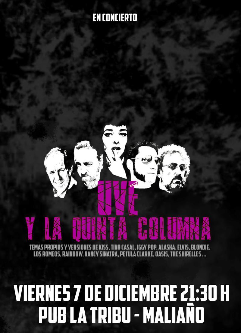 Uve y la Quinta Columna 7/12 La Tribu - Maliaño  ///  8/12 Don Floro - Avilés Uvelat10