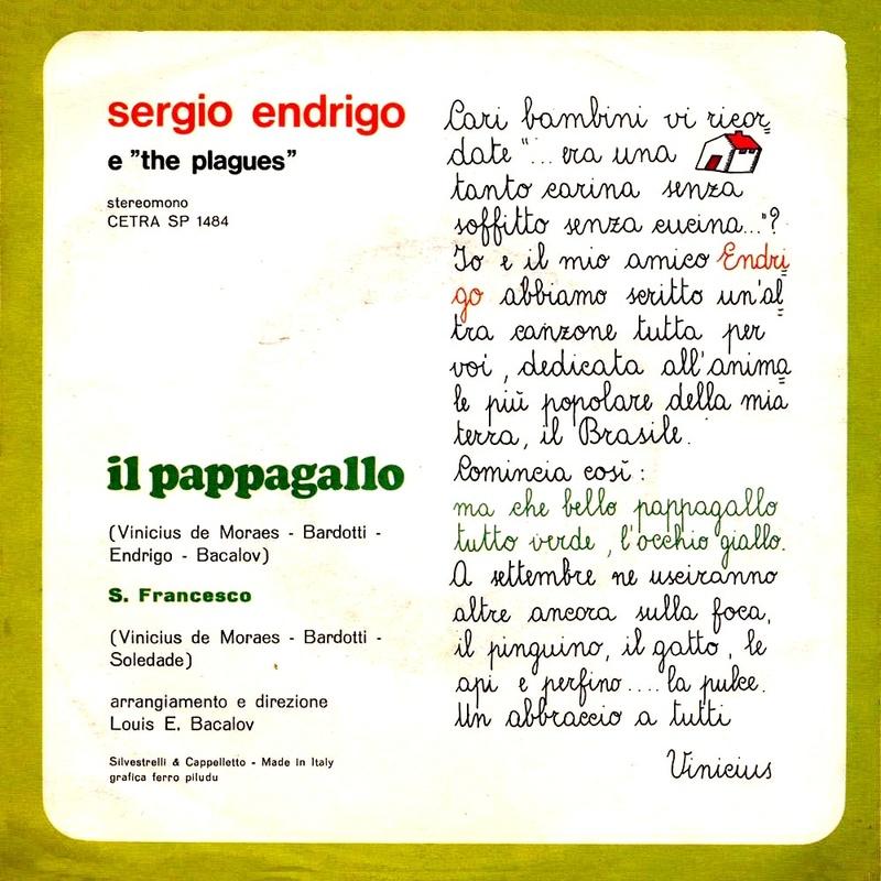 Sergio Endrigo Discografia Cover Video Testi Pagina 3