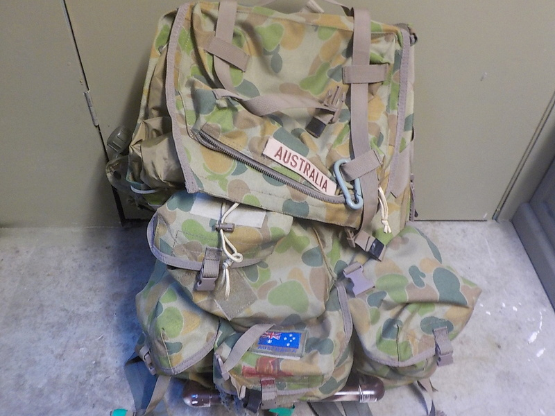 NZDF ALICE Pack Variants (and interim introduction) Dscn1615