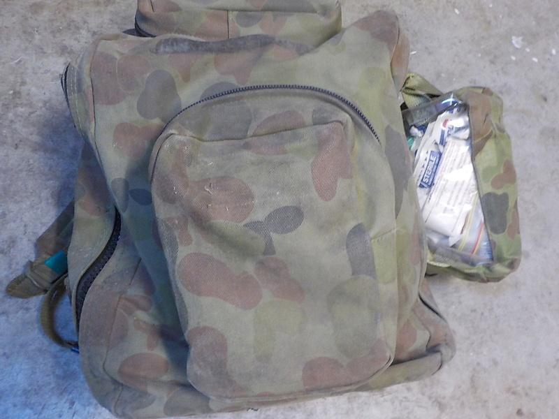 NZDF ALICE Pack Variants (and interim introduction) Dscn1617