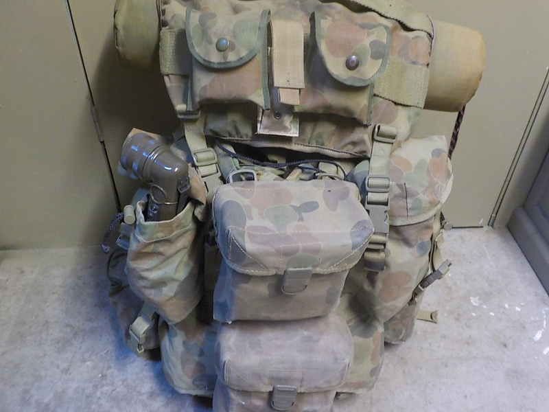NZDF ALICE Pack Variants (and interim introduction) Dscn1619