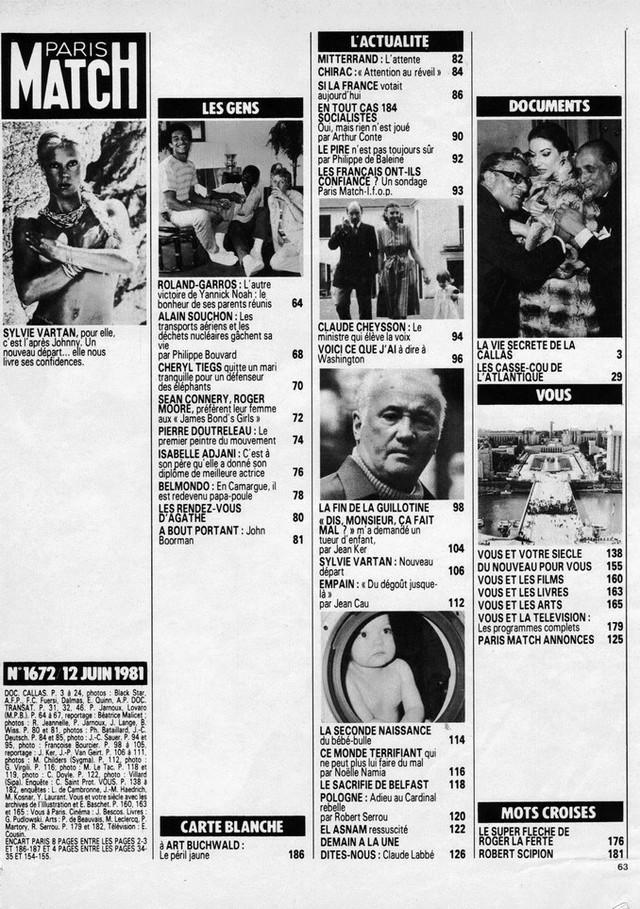 Discographie N° 78 L'AMOUR C'EST COMME UNE CIGARETTE - Page 2 19810613