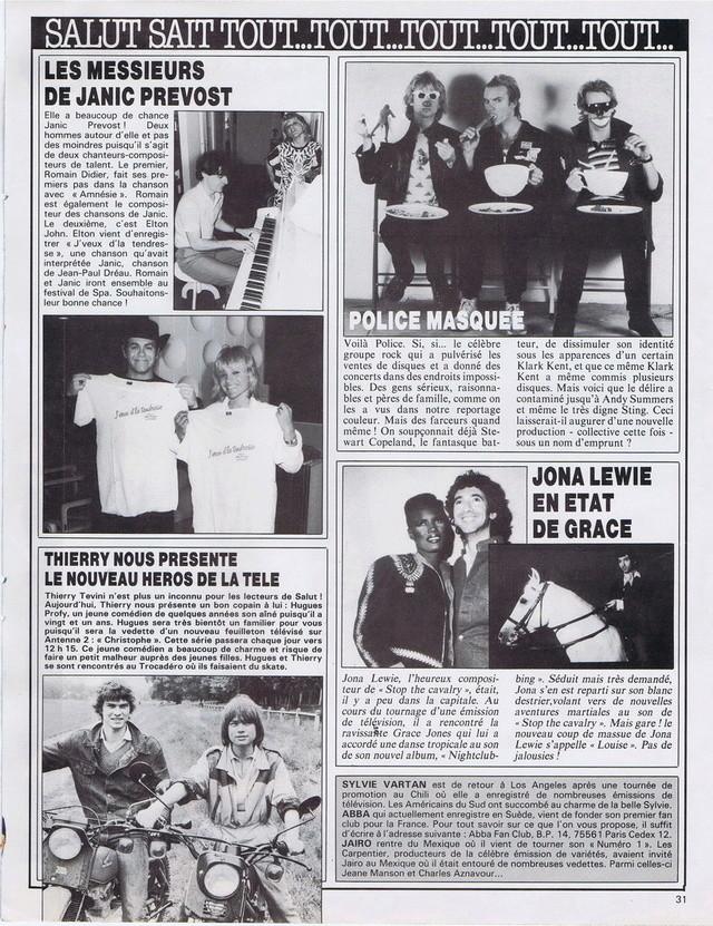 Discographie N° 78 L'AMOUR C'EST COMME UNE CIGARETTE - Page 2 19810619