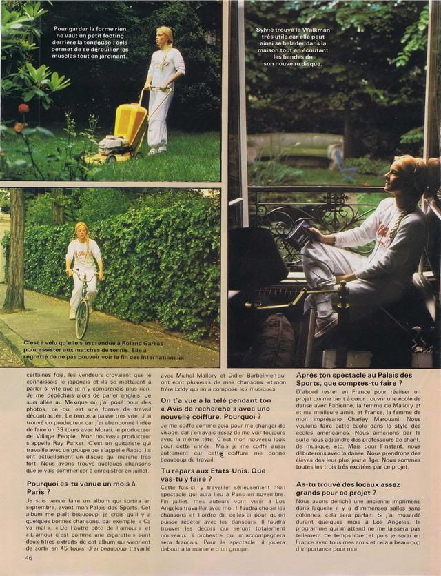 Discographie N° 78 L'AMOUR C'EST COMME UNE CIGARETTE - Page 2 19810620
