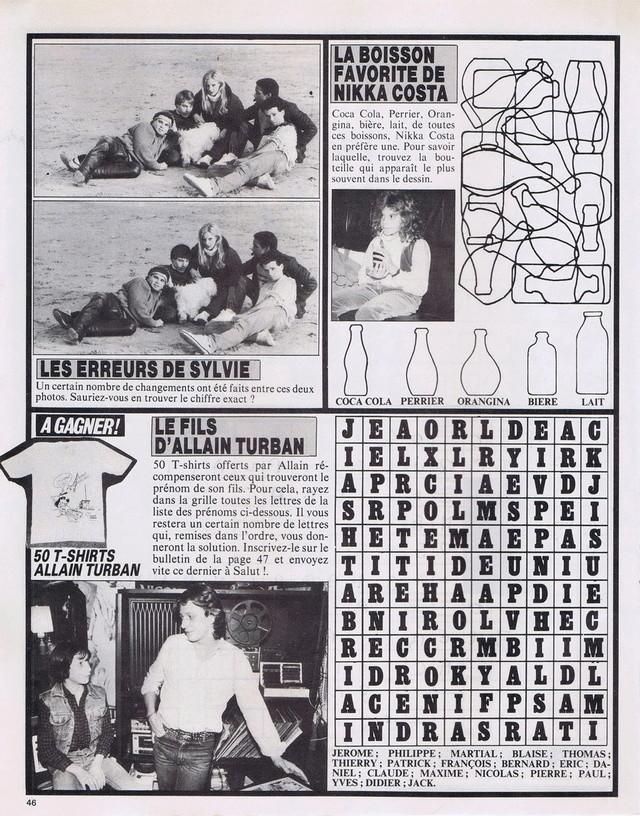 Discographie N° 80 LA SORTIE DE SECOURS - Page 3 19820417
