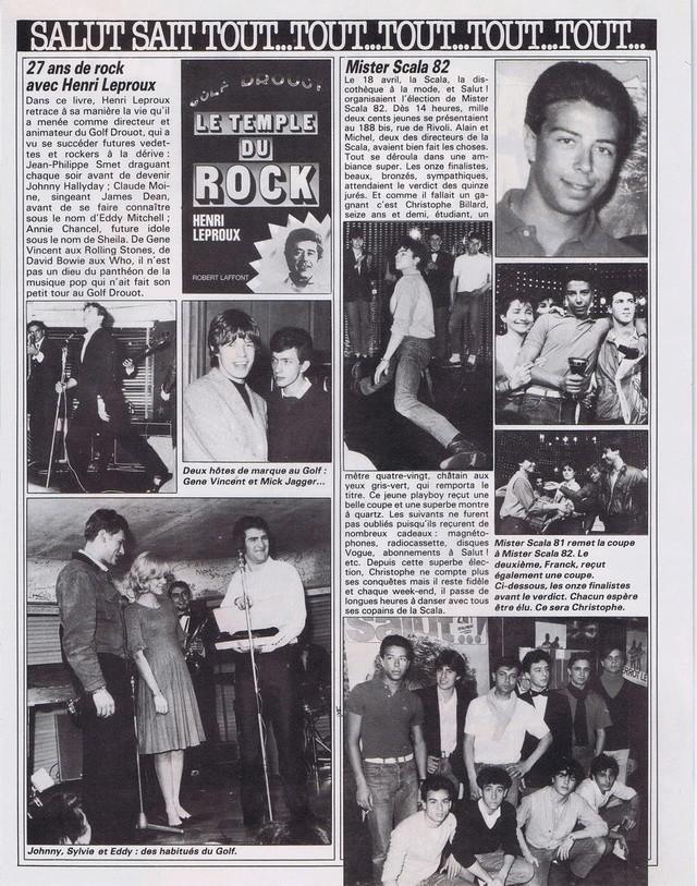 Discographie N° 80 LA SORTIE DE SECOURS - Page 3 19820512