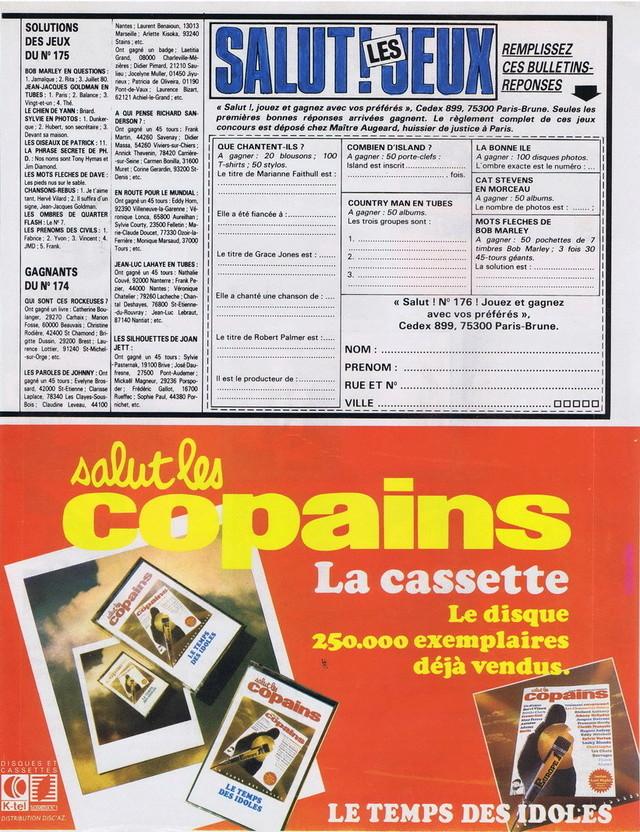 Discographie N° 80 LA SORTIE DE SECOURS - Page 3 19820611