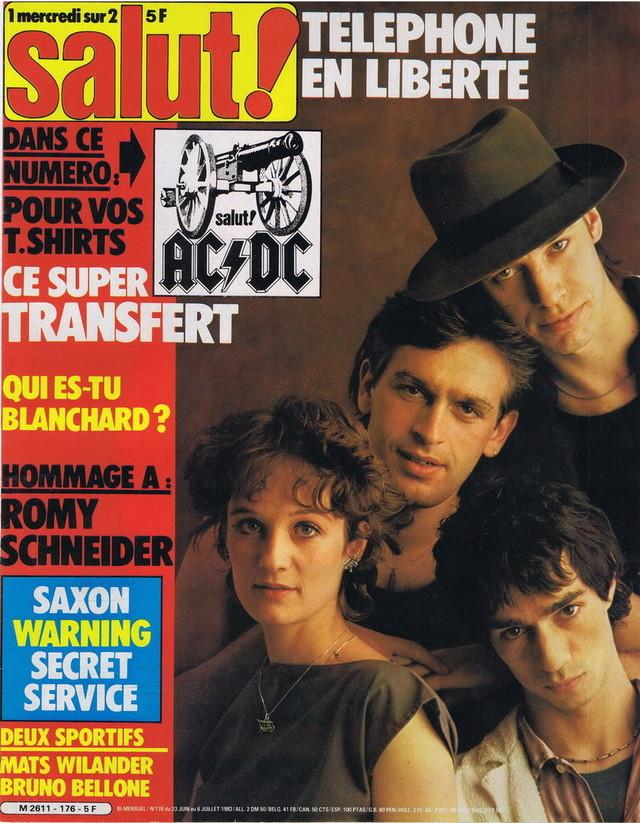 Discographie N° 80 LA SORTIE DE SECOURS - Page 3 19820613