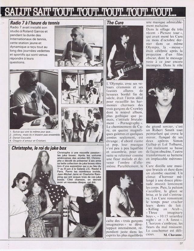 Discographie N° 80 LA SORTIE DE SECOURS - Page 3 19820614