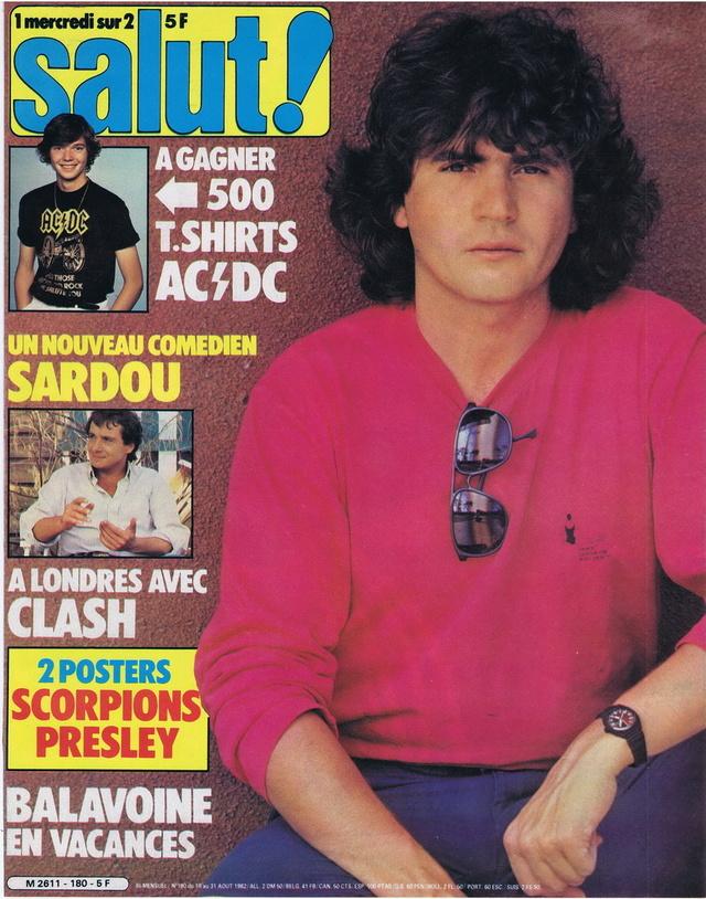 Discographie N° 80 LA SORTIE DE SECOURS - Page 3 19820824