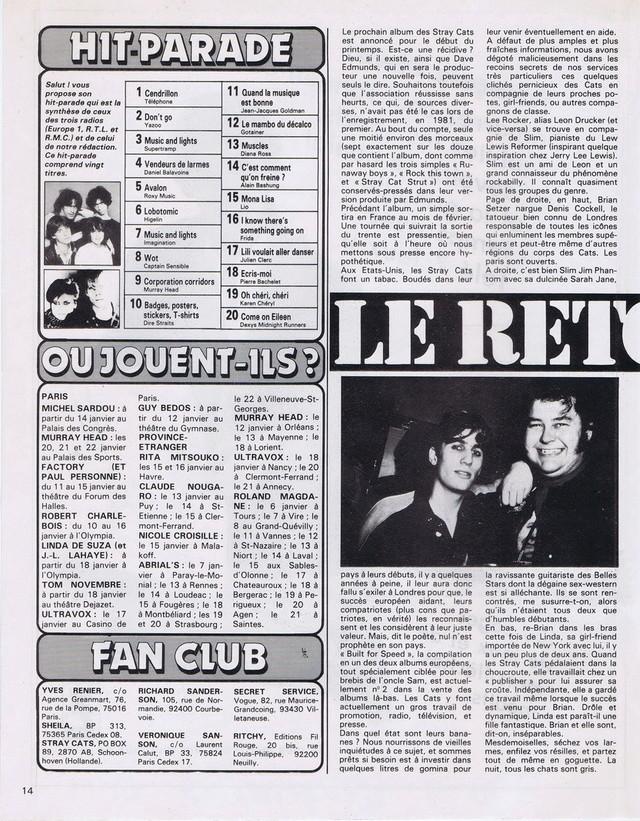 Discographie N° 81 MARATHON WOMAN - Page 2 19830116