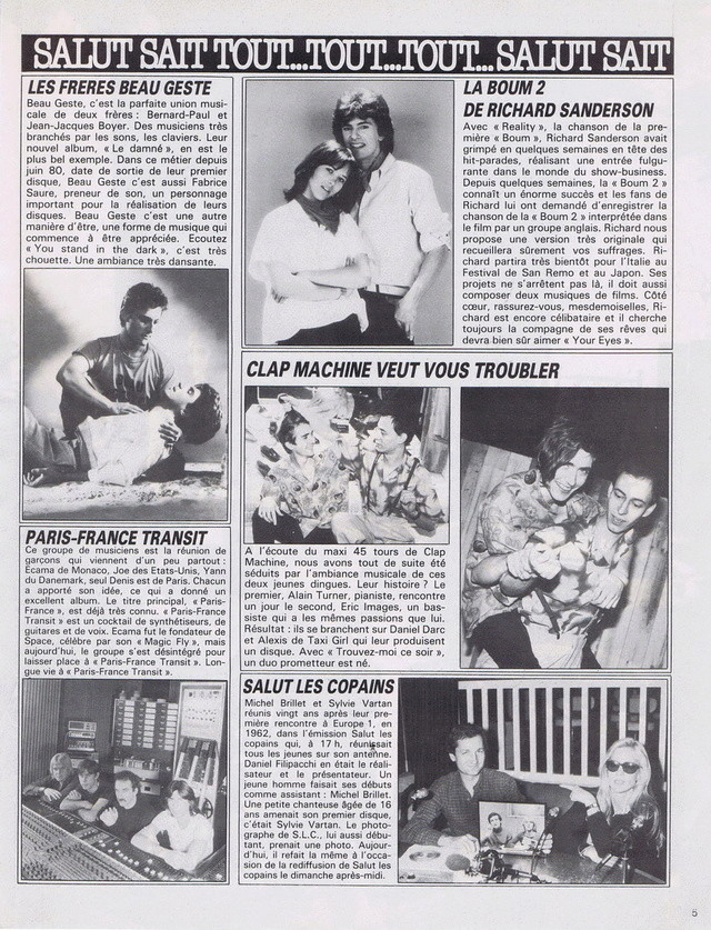 Discographie N° 81 MARATHON WOMAN - Page 2 19830120