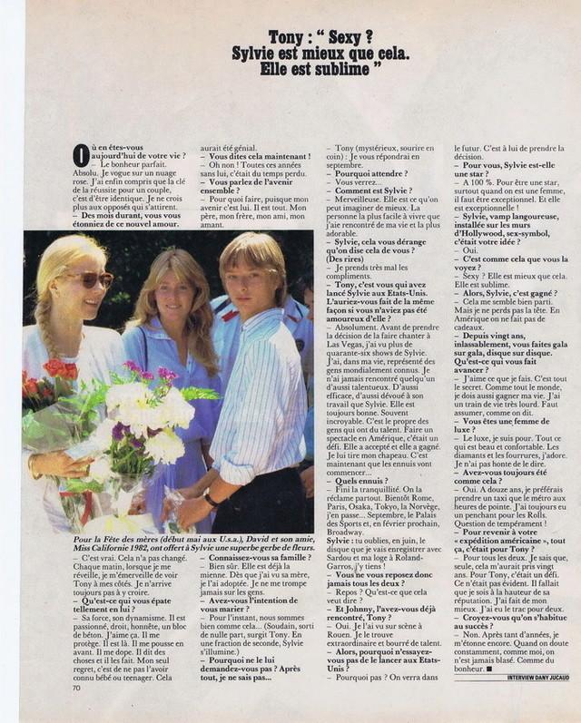 """Discographie N° 39 (COMPLEMENT) """"LA PREMIERE FOIS QU'ON S'AIMERA"""" - Page 4 19830513"""