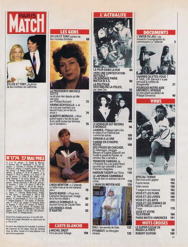 """Discographie N° 39 (COMPLEMENT) """"LA PREMIERE FOIS QU'ON S'AIMERA"""" - Page 4 19830515"""