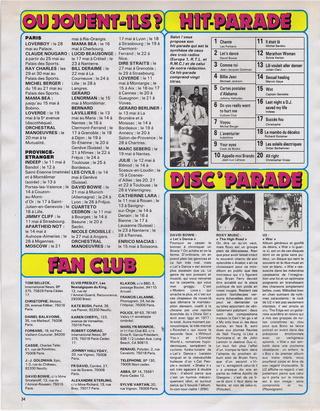 """Discographie N° 39 (COMPLEMENT) """"LA PREMIERE FOIS QU'ON S'AIMERA"""" - Page 4 19830521"""