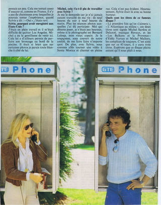 """Discographie N° 39 (COMPLEMENT) """"LA PREMIERE FOIS QU'ON S'AIMERA"""" - Page 4 19830612"""