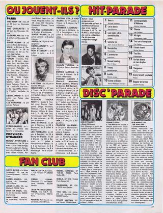 """Discographie N° 39 (COMPLEMENT) """"LA PREMIERE FOIS QU'ON S'AIMERA"""" - Page 4 19830617"""
