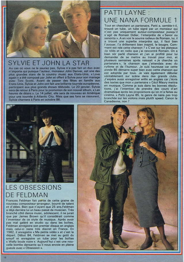 Discographie N° 85 LOVE AGAIN - Page 3 19850128