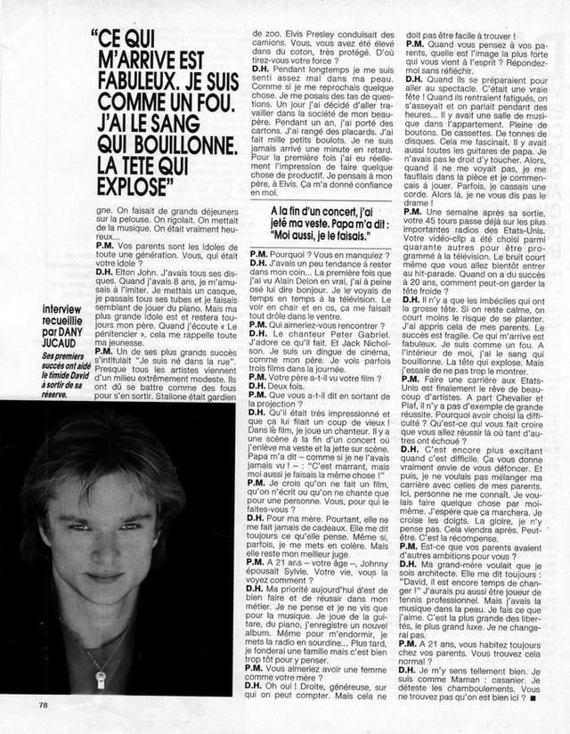 """Discographie N° 90 """"TU N'AS RIEN COMPRIS"""" - Page 3 19870817"""