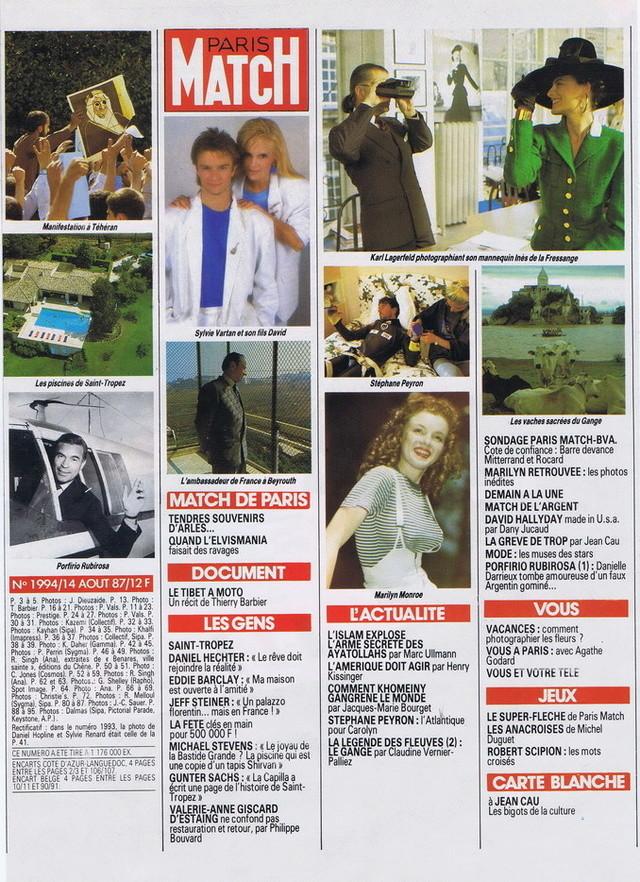 """Discographie N° 90 """"TU N'AS RIEN COMPRIS"""" - Page 3 19870818"""