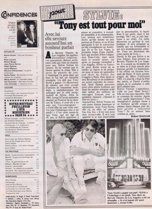 """Discographie N° 39 (COMPLEMENT) """"LA PREMIERE FOIS QU'ON S'AIMERA"""" Confid18"""