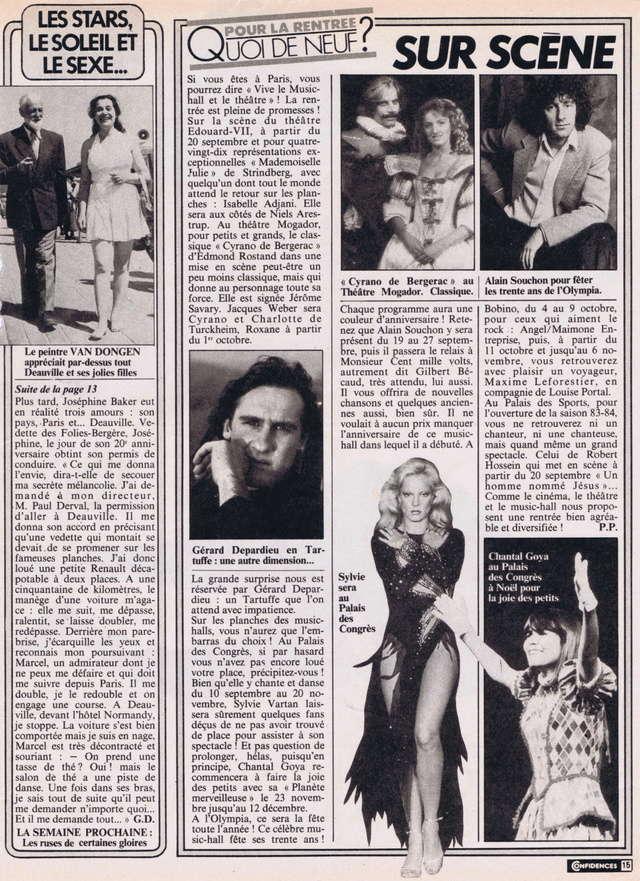 """Discographie N° 39 (COMPLEMENT) """"LA PREMIERE FOIS QU'ON S'AIMERA"""" - Page 2 Confid29"""