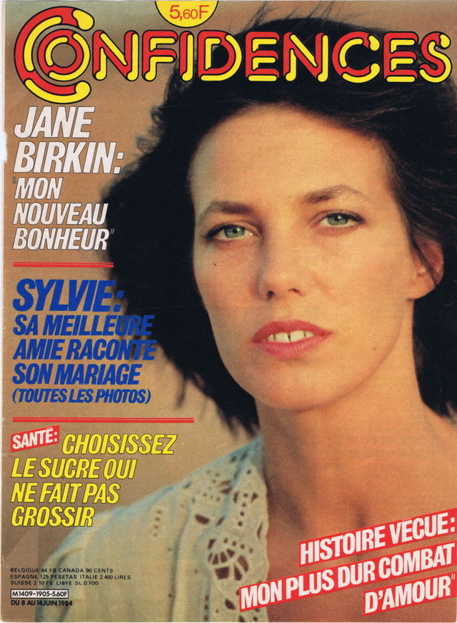 Discographie N° 84 Déclare l'amour comme la guerre - Page 2 Confid37