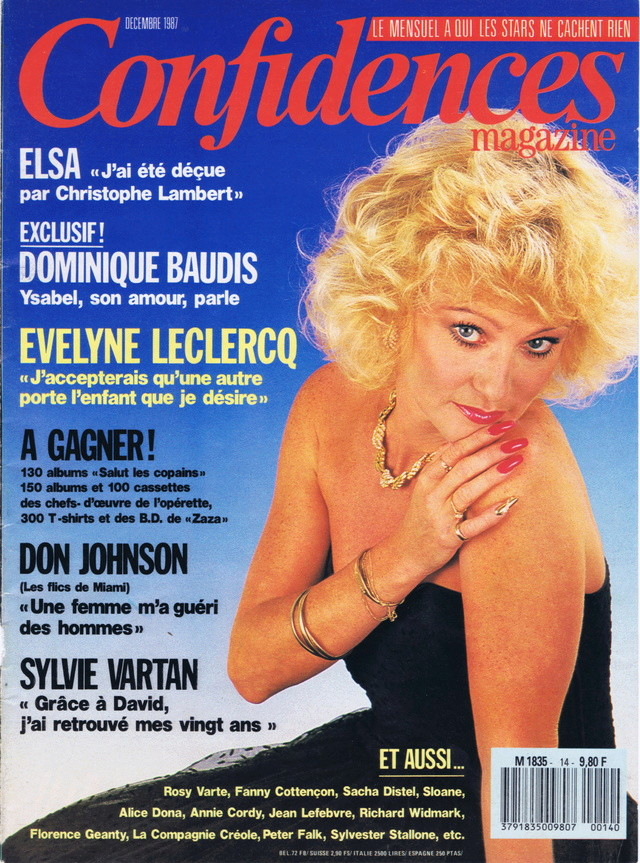 Discographie N° 91 FEMME SOUS INFLUENCE - Page 2 Confid53