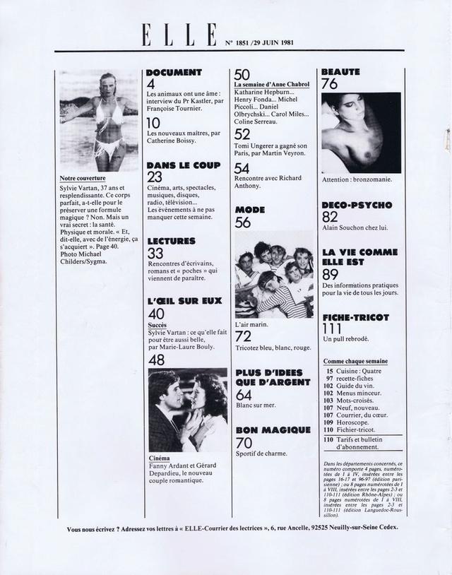 Discographie N° 78 L'AMOUR C'EST COMME UNE CIGARETTE - Page 2 Elle1820