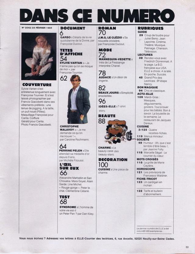 Discographie N° 86 : DES HEURES DE DESIR - Page 2 Elle2011