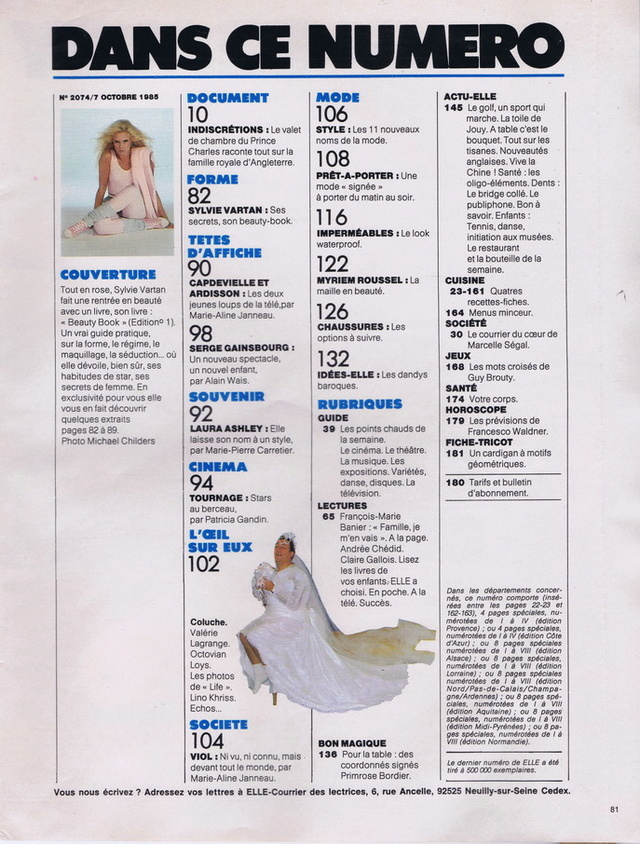 Discographie N° 87 DOUBLE EXPOSURE - Page 2 Elle2026
