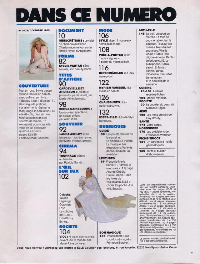 Discographie N° 87 DOUBLE EXPOSURE Elle2026