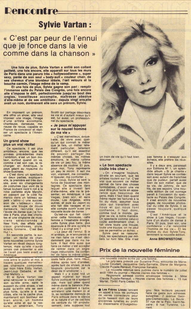 "Discographie N° 82 ""DANSE TA VIE"" - ""DEPRIME"" - Page 2 Femme_11"