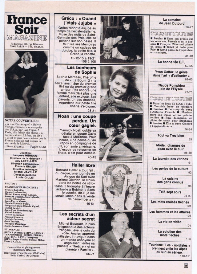 Discographie N° 81 MARATHON WOMAN - Page 2 France46