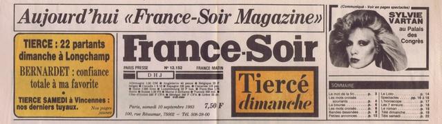 "Discographie N° 82 ""DANSE TA VIE"" - ""DEPRIME"" - Page 3 France67"