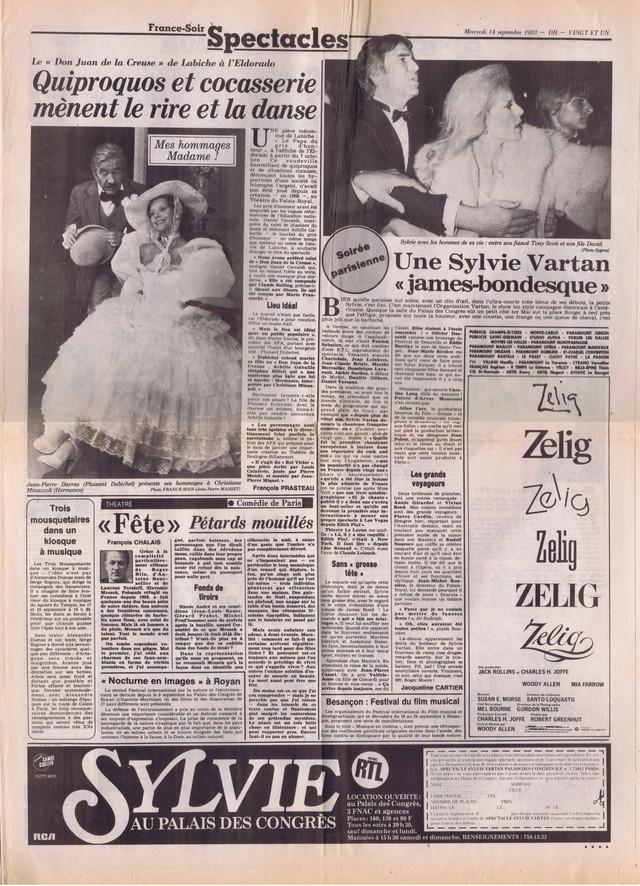 "Discographie N° 82 ""DANSE TA VIE"" - ""DEPRIME"" - Page 3 France70"