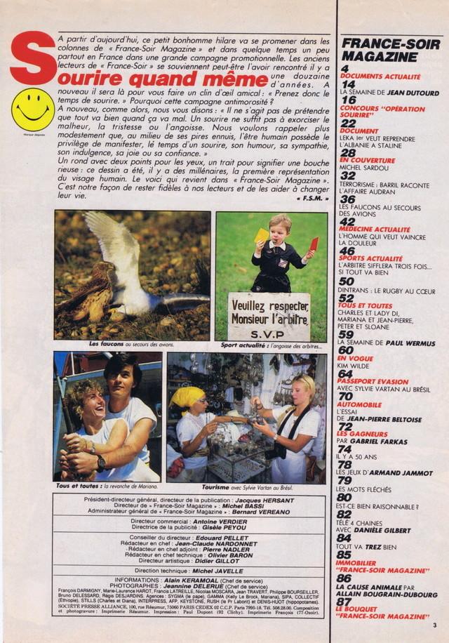 Discographie N° 86 : DES HEURES DE DESIR - Page 2 France88