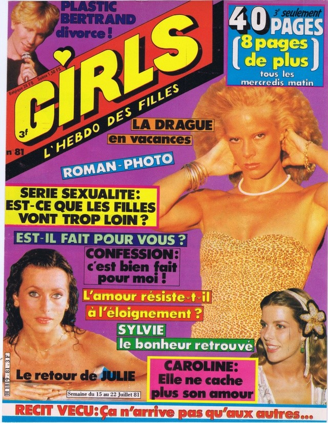 Discographie N° 78 L'AMOUR C'EST COMME UNE CIGARETTE Girl_113