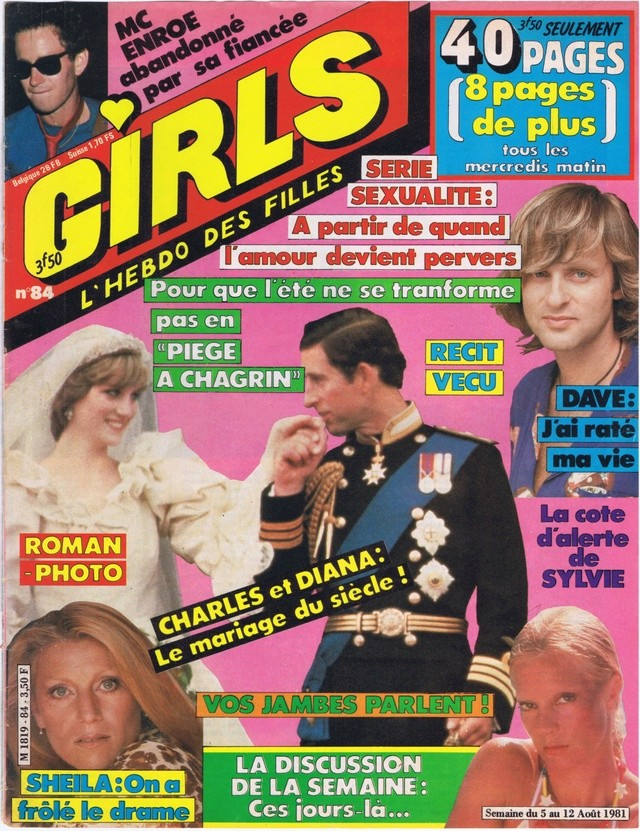 Discographie N° 78 L'AMOUR C'EST COMME UNE CIGARETTE Girls_13