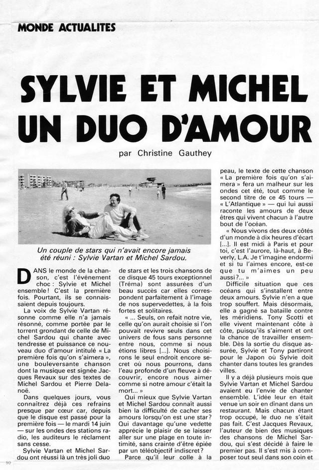 """Discographie N° 39 (COMPLEMENT) """"LA PREMIERE FOIS QU'ON S'AIMERA"""" - Page 3 Jdf14822"""