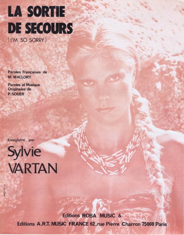 Discographie N° 80 LA SORTIE DE SECOURS - Page 3 Partit14
